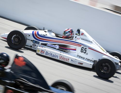 BWM Guest Drivers Hanna Zellers and Ross Drybrough