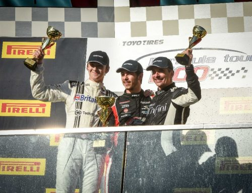 Britain West on the Podium at Montreal GP